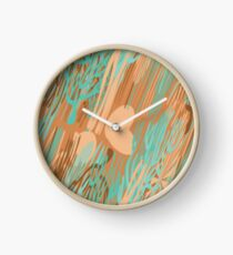 STUDY IN VERDIGRIS Clock
