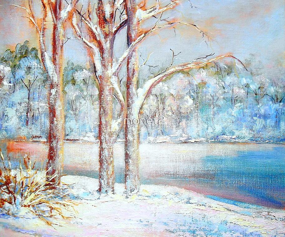 Winterscape by monet2