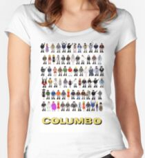 Columbo - The Murderers Women's Fitted Scoop T-Shirt