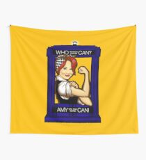 Amy Can! Wall Tapestry