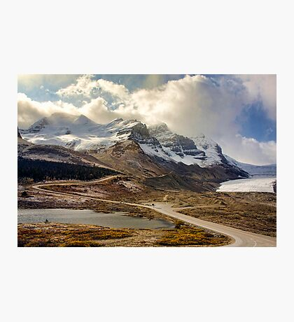 The Athabasca Glacier Photographic Print