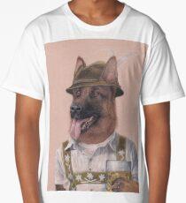 German Shepherd Long T-Shirt