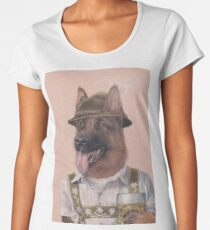 German Shepherd Women's Premium T-Shirt