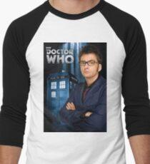 Doctor ten - doctor who Men's Baseball ¾ T-Shirt