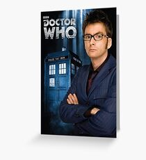 Doctor ten - doctor who Greeting Card