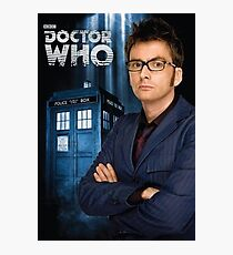 Doctor ten - doctor who Photographic Print