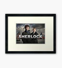 Sherlock holmes - bbc  Framed Print