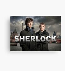Sherlock holmes - bbc  Canvas Print