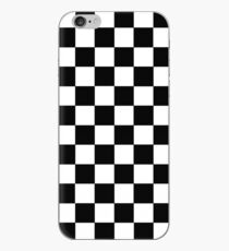 Checkered Black and White iPhone Case