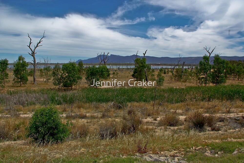 Views of Lake Fyans V03 by Jennifer Craker
