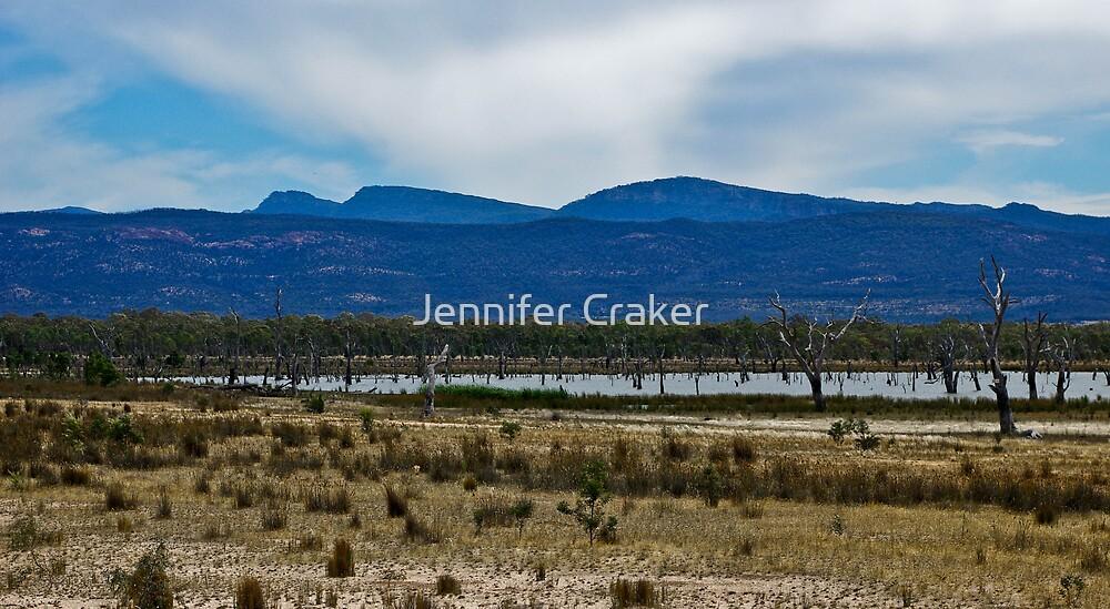 Views of Lake Fyans V04 by Jennifer Craker