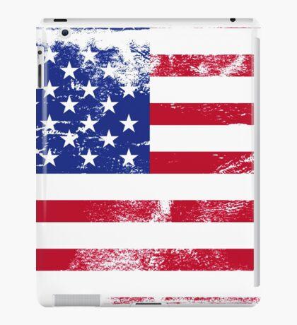 American Flag Used iPad Case/Skin