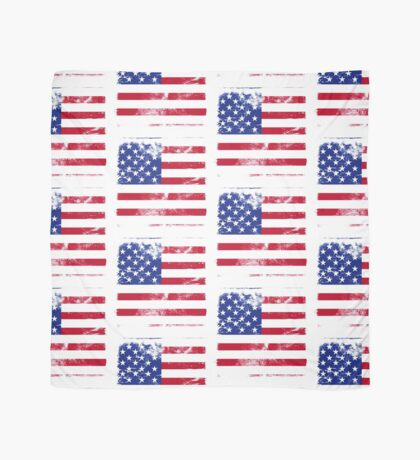 American Flag Used Scarf