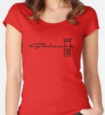 Ford Galaxie 500 Emblem Women's Fitted Scoop T-Shirt