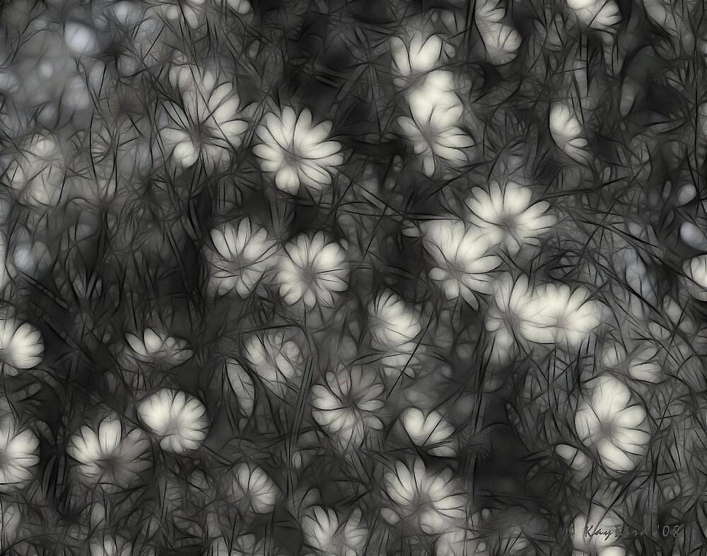 Tangle Of Wild Flowers II by Kay  G Larsen