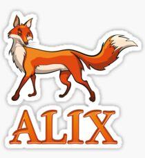Alix Fox Sticker