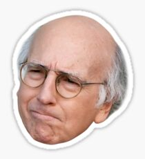 Larry David - 8a Sticker