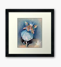 Fairy Godmother with Magic Wand Framed Print