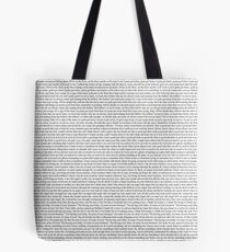 Every Lyric from Harry Styles Album Tote Bag