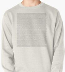 Every Lyric from Harry Styles Album Pullover Sweatshirt