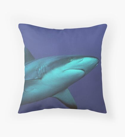 Reef Shark Throw Pillow