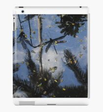 Flying over water iPad Case/Skin