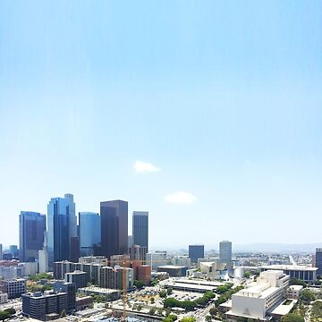 Los Angeles Skyline by kmingee