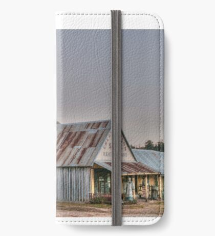 Hill End store iPhone Wallet
