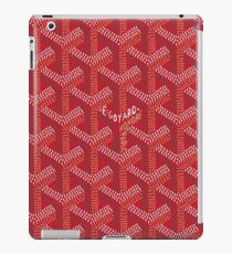 Goyard Red Bape iPad Case/Skin
