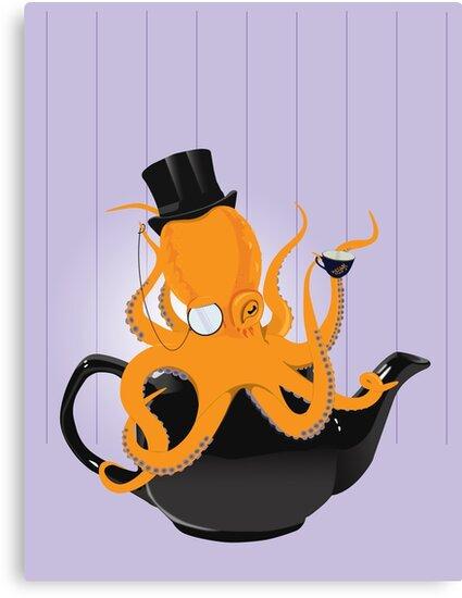 Oc-tea-pus by PixelGum