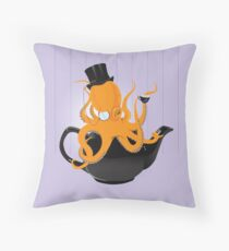 Oc-tea-pus Throw Pillow