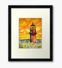 Gay Head lighthouse  Framed Print
