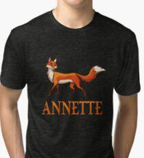 Annette Fox Tri-blend T-Shirt