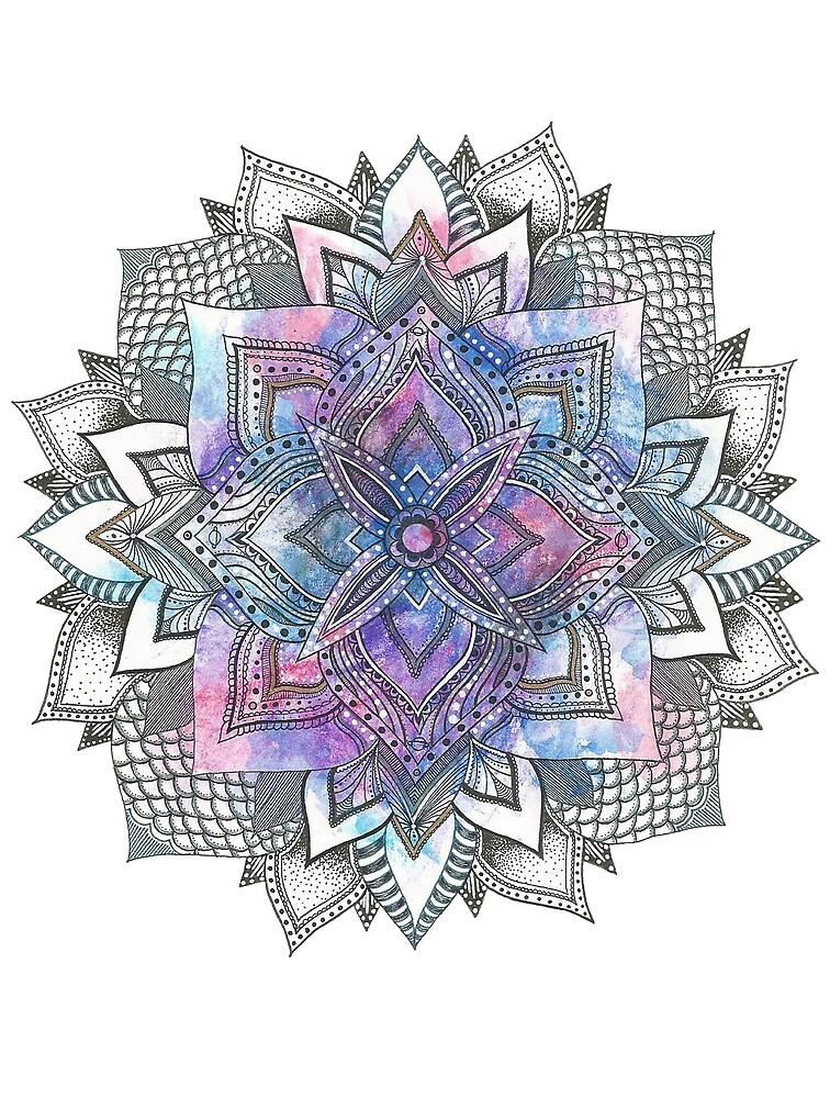Galaxy Mandala by jetsmokeee