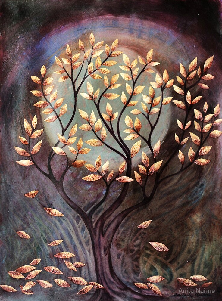 Autumn's Gold by Anita Nairne