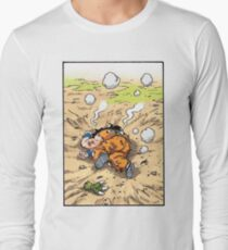 Dragon Ball Z - Yamcha's Death Manga Long Sleeve T-Shirt