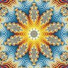 Color Patterned Kaleidoscope Leggings by fantasytripp