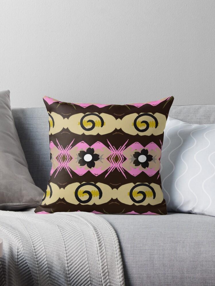 Small daisy repeat pattern. by MarilynBaldey7
