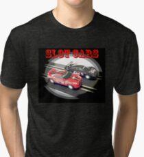 Slot Cars Black Tri-blend T-Shirt