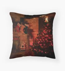 TWAS THE NIGHT BEFORE CHRISTMAS.... Throw Pillow