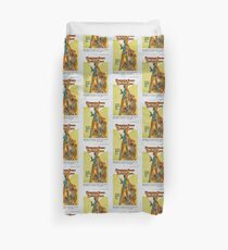 Cleopatra Jones and The Casino of Gold (Orange) Duvet Cover