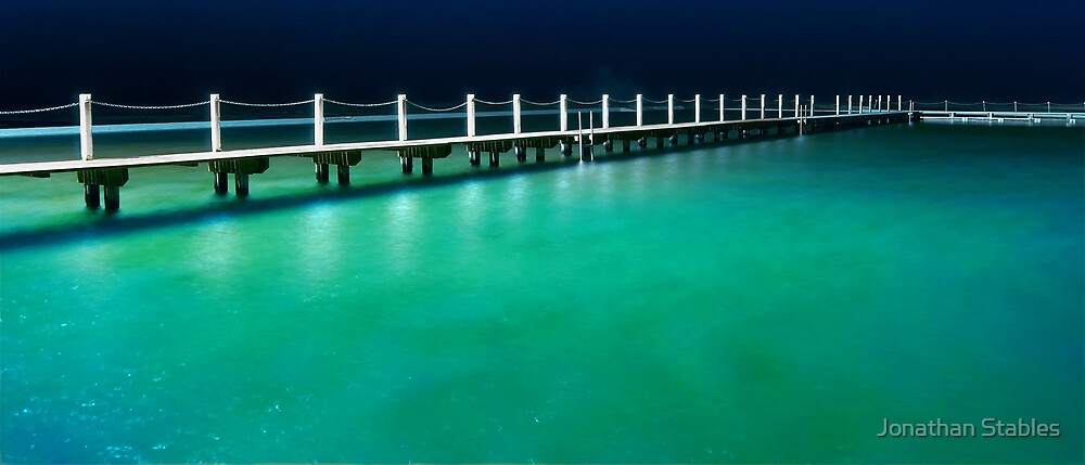 Narrabeen pools by Jonathan Stables