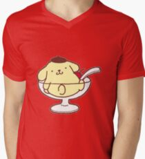 Pompompurin - Sanrio Men's V-Neck T-Shirt