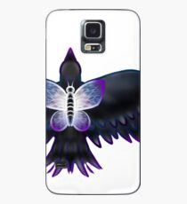 Crow and a Butterfly Case/Skin for Samsung Galaxy