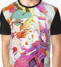 Xayah and Rakan Graphic T-Shirt
