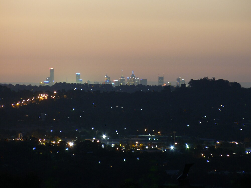 Melbourne from Montrose by Joan Wild