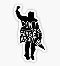 Bender vergessen Sie nicht Sticker