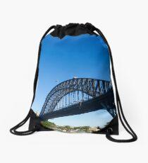 Sydney Harbour Bridge Drawstring Bag