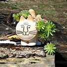 kitty planter by boondockMabel