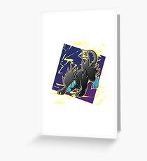 Pokemon - Luxray Greeting Card